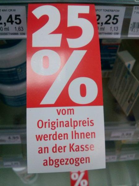 (lokal) Berlin, Müllerstr. 25% auf alles bei ROSSMANN bis zum 30.05!!!