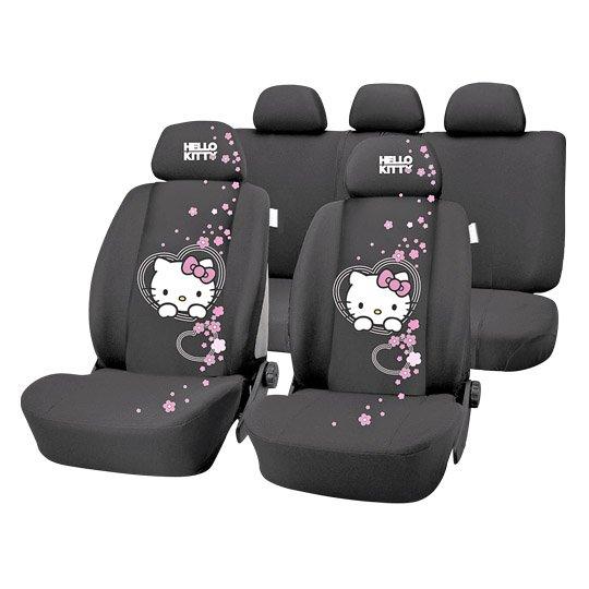 @real.de: Hello Kitty, Autositzbezüge