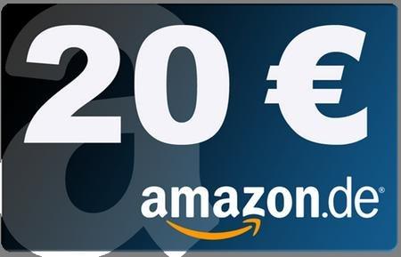 20 € Amazon Gutschein, Für DE MAIL Registrierung + Identifizierung