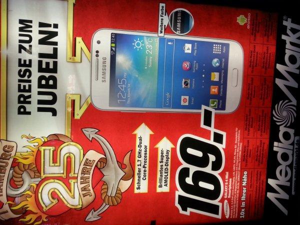 [Media Markt Hamburg] Samsung Galaxy S4 Mini für 169€