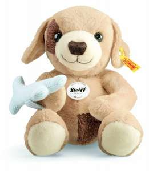 Steiff 282171 - Bernie Hund, 28 cm, beige