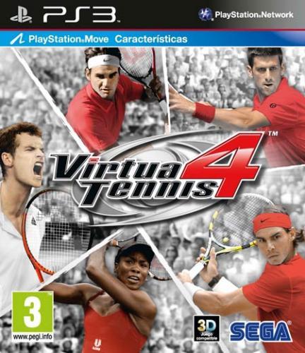 Virtua Tennis 4 [PS3] (Move und 3D kompatibel) für ca. 15.71€ @ thehut