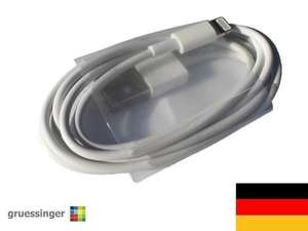 iPhone 5S 5 iPod iPad mini Datenkabel Ladekabel USB Kabel Lightning - NEU