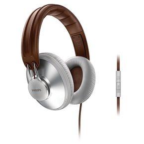 Philips SHL5905GY/10 Weiß/Braun Retro-Kopfhörer für 48,49€ @Redcoon