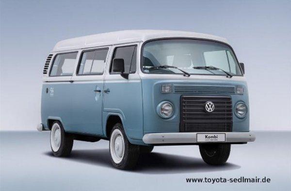"""Der """"Bulli"""" is back: Volkswagen T2 Last Edition (Sammlerstück),20 von insgesammt 1200 Stk. verfügbar"""