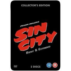 Sin City Steelbook (Collector's Edition, Recut & Extended) [DVD] für 4,99€ @Zavvi