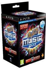 Buzz! The Ultimate Music Quiz inkl. 4 Buzzer (PS3, Move compatible) - ca. 20,50 €