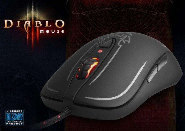 """SteelSeries Gaming-Maus """"Diablo III"""" nur kurze Zeit bei ZackZack für 24,90 + Versand"""