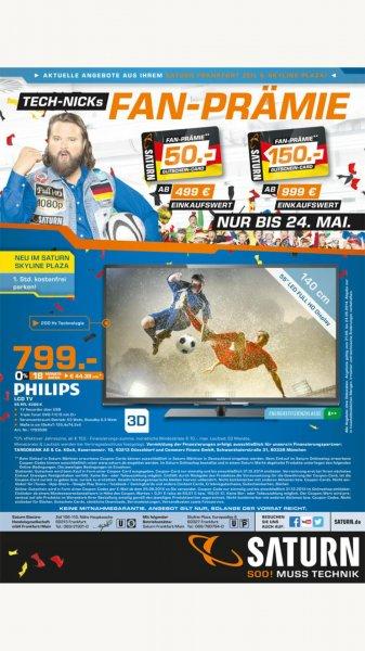 [Lokal Frankfurt] Saturn Gutscheinkarte: 499€ Einkauf 50€ Gutschein - 999€ Einkauf 150€ Gutschein