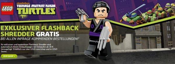 [Lego.de / Online & Offline] Exklusiver Shredder ab einen Bestellwert von 30€ Gratis!
