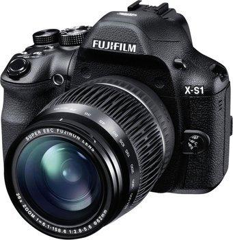 [amazon.uk] Fujifilm X-S1 Bridge-Kamera (12 Megapixel CMOS, 7,6 cm (3 Zoll) Display, Full-HD Video, bildstabilisiert) inkl. FUJINON Objektiv mit 26-fach Zoom schwarz  inkl. Vsk für 283 €