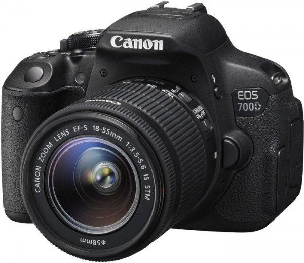 Canon EOS 700D mit Objektiv EF-S 18-55mm 3.5-5.6 IS STM für 530€ durch 50€Cashback + 50€ Gutschein