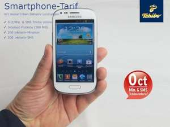 Samsung Galaxy S3 mini für 99€ ab 26.05. @Tchibo