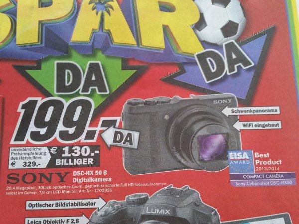 [Media Markt Recklinghausen]Sony DSC HX50B für 199€