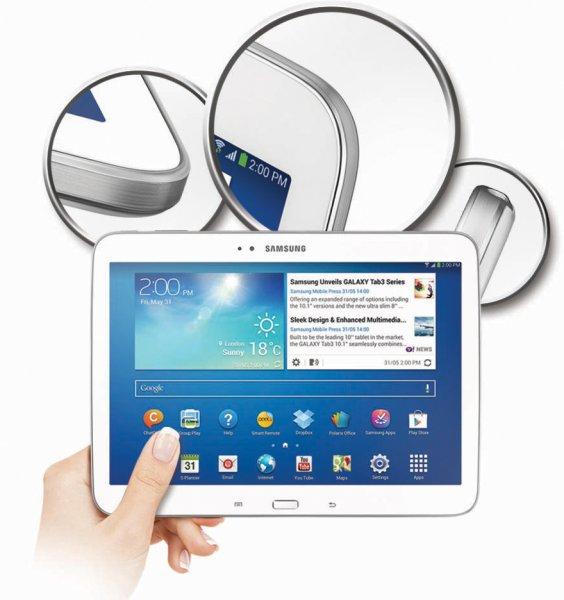 [Mediamarkt / Saturn Bundesweit] SAMSUNG Galaxy Tab 3 10.1 WiFi 16GB WHITE/BLACK GT-P5210 ab 179€