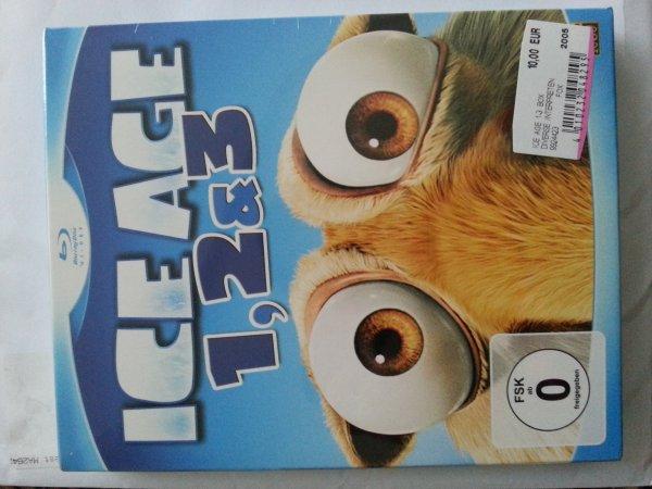 [lokal Berlin] Ice Age 1-3 Blu-ray 10€ - Media Markt