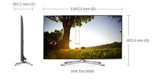 Samsung UE46F6500 400Hz(amr) 3D Full HD 116cm Smart TV, Wlan, Sprachsteuerung, DVB-T/C/S2 incl. 2 Brillen für 601,99€ bei TelcoTec