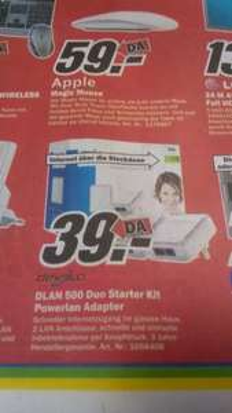 Media Markt Devolo DLAN 500 Duo Starter Kit