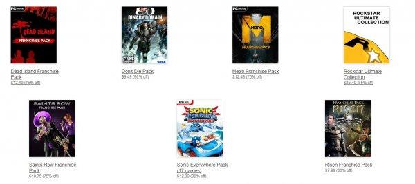 [Steam] Amazon.com Digital Games Deals mit u.a. Metro Franchise Pack 9,14€