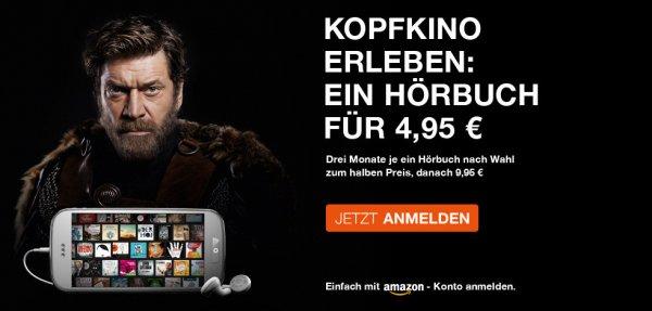 Hörbuch für 4,95,- € bei audible