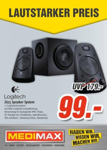 [MediMax Gera] Logitech Z623 Speaker System  99,-