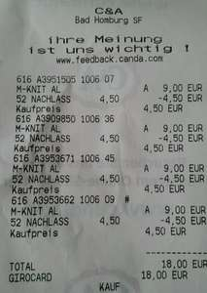 (Filialen) C&A - Polohemden für 4,50€ statt 9,00€