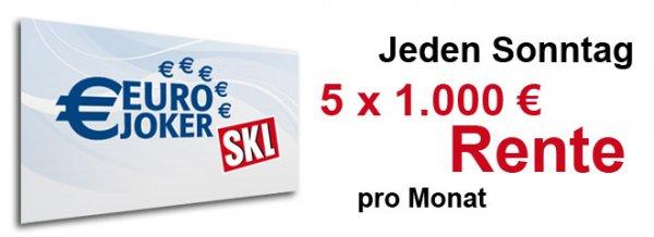 SKL Euro Joker Los für rechnerisch 2,45€ (ggf. mit 1,65€ Gewinn durch Questler)