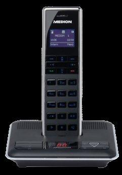 DESIGN DECT TELEFON MIT BLUETOOTH MEDION® LIFE® S63075 (MD 83166) (B-WARE)