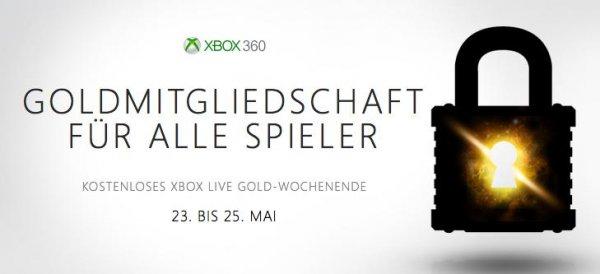 Xbox Live Kostenloses Wochenende vom 23.- 25.5.2014