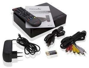 2000 GB HDD Poppstar MP100 FULL HD Mediaplayer - Unterstützt H.264/MKV, 1080p full HD @ Tradoria