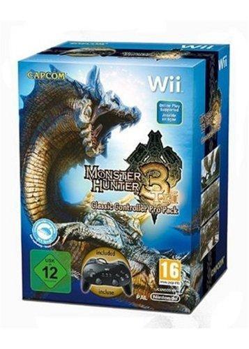 Wii - Monster Hunter Tri inkl. Classic Controller Pro (Schwarz) [@Hmv.com]