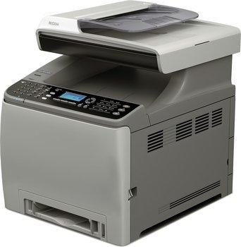 Ricoh C240SF Farblasergerät das drucken, scannen, kopieren, faxen kann+Duplex+Netzwerk+Vorlageneinzug statt 229.00 (Idealo) zu 199 € (wirhabensnoch)