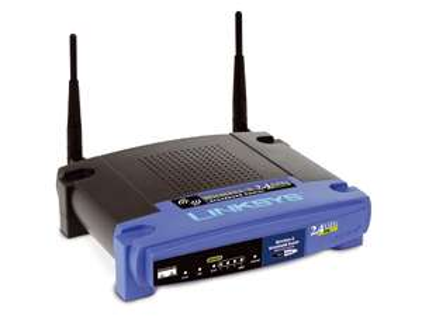 WLAN-Router CISCO LINKSYS WRT54G, ungeprüfte Retourenware 12,90 €