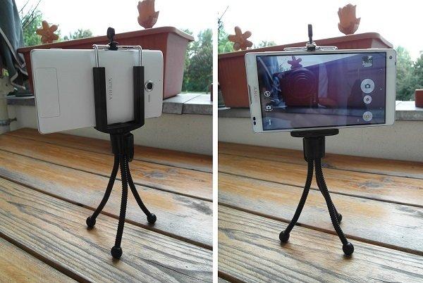 Universal Smartphone Mount + Mini-Stativ für nicht mal 3€ inkl Versand (China)
