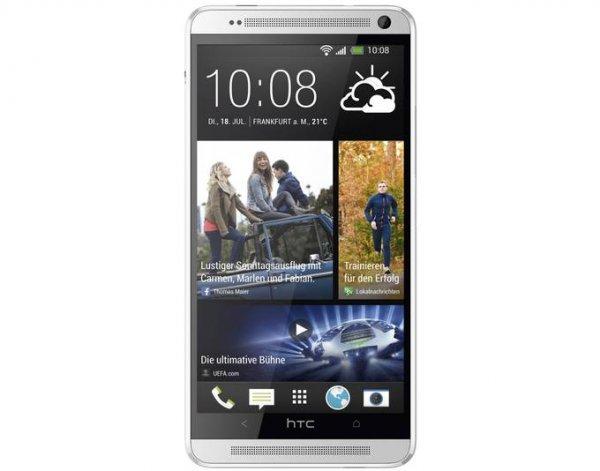 HTC One 32 GB (M7) silber als B-Ware für 290,46€