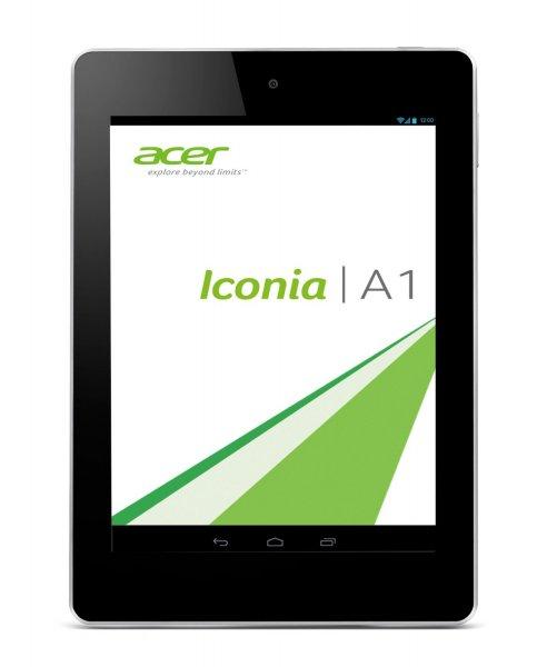 Acer Iconia A1-810 20 cm (7,9 Zoll mit IPS Technologie) Tablet-PC (QuadCore Prozessor 1,2GHz, 1GB RAM, 16GB eMMC, 5MP Kamera, Android 4.2) für 109€ bei Amazon.de versandkostenfrei