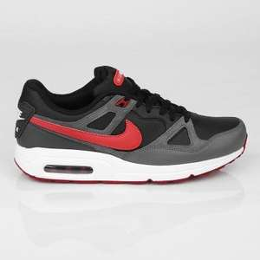 Nike Air Max Span - black/lt crmsn-drk gry-anthrct