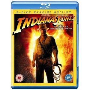 Indiana Jones und das Königreich des Kristallschädels Blu-ray für 6,05 € inkl. Versand