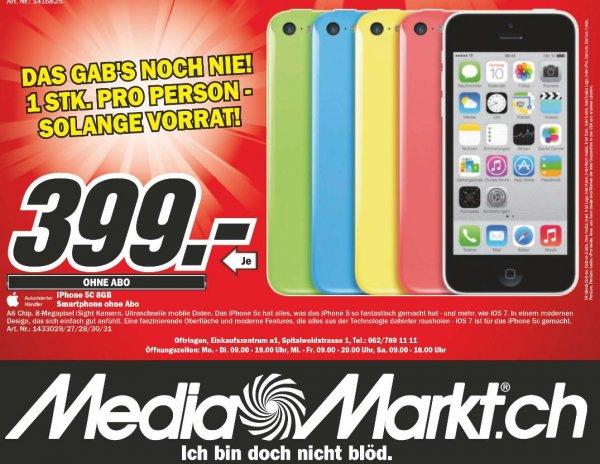 LOKAL | SCHWEIZ | Apple Iphone 5C, 8 GB - alle Farben