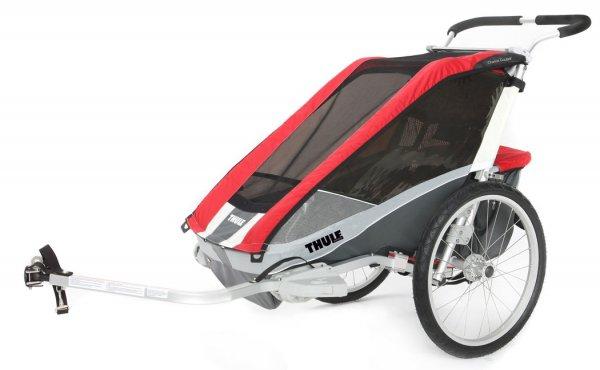 THULE Chariot Cougar 2 Fahrradanhänger inkl. Fahrradset! Und andere günstige Fahrradanhänger, z. B. Croozer