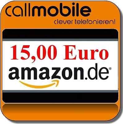 Wieder da: Callmobile SIM-Karte mit 15 € Amazon Gutschein für nur 2,95€
