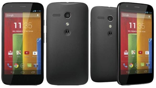 Motorola Moto G  für 138,90€