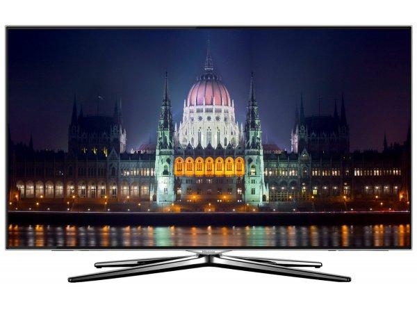 Hisense LTDN50XT881 127 cm (50 Zoll) 3D LED-Backlight-Fernseher, EEK A (Ultra HD, 600Hz SMR, DVB-T/C/S2, SMART TV, HbbTV, DLNA, WLAN)