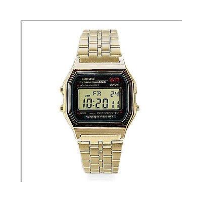 Casio Herrenuhr A159WGEA-1EF Collektion vergoldet