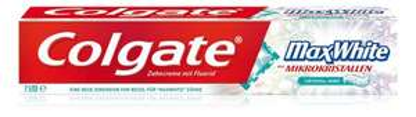 Colgate MAx White 25 ml + Max White one  19 ml  bei Colgate Whitening Raod Show