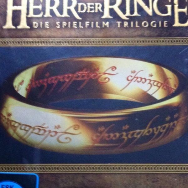 Herr der Ringe - Trilogie Blu Ray