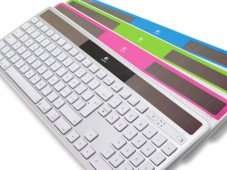 [ConradDE] Logitech Solar Keyboard K750 für MAC + evtl. microSDHC-Karte 8 GB Transcend
