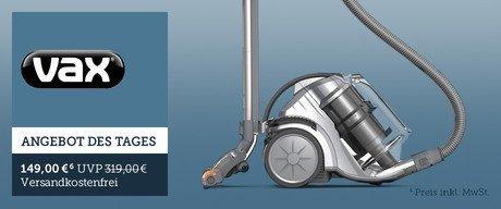 Vax Zen Powered Head Bodenstaubsauger mit Multicyclone Technologie / 1400W / inklusiv Elektrobürste für 134 Euro (Idealo: 259 Euro) ab 24.05. 9 Uhr