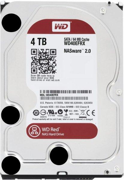 Festplatte WD Red 4 TB (gebraucht/rezertifiziert) für 69 Euro
