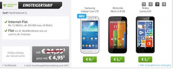 Motorola Moto G für 119,80 €